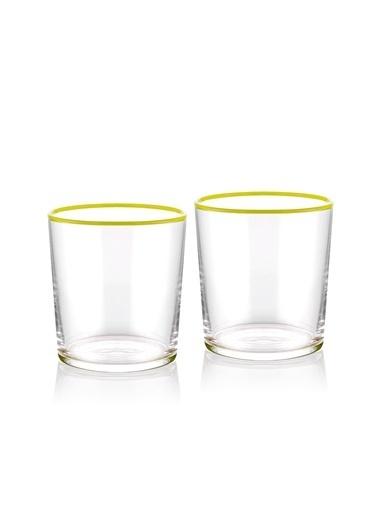 The Mia Su Bardağı 2 Li Set 380 cc Sarı Sarı